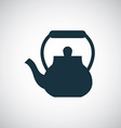 Teapot icon vector