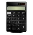 Realistic calculator vector