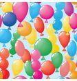 Abstract balloons background seamless vector