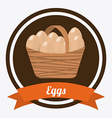 Eggs design vector