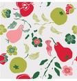 Fruit art print vector