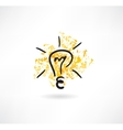 Light icon vector