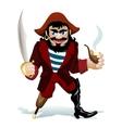 Smilling pirat vector