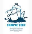Clean water vector