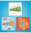Cards on discounts vector