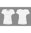 Woman tshirt t-shirt templates vector