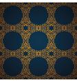 Seamless damask wallpaper vector
