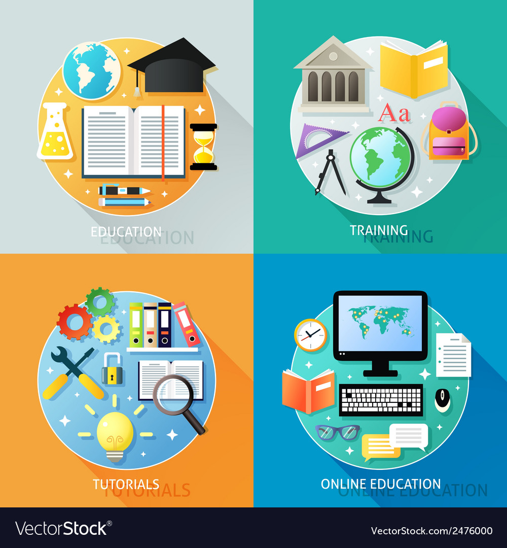 Business education concept vector | Price: 1 Credit (USD $1)
