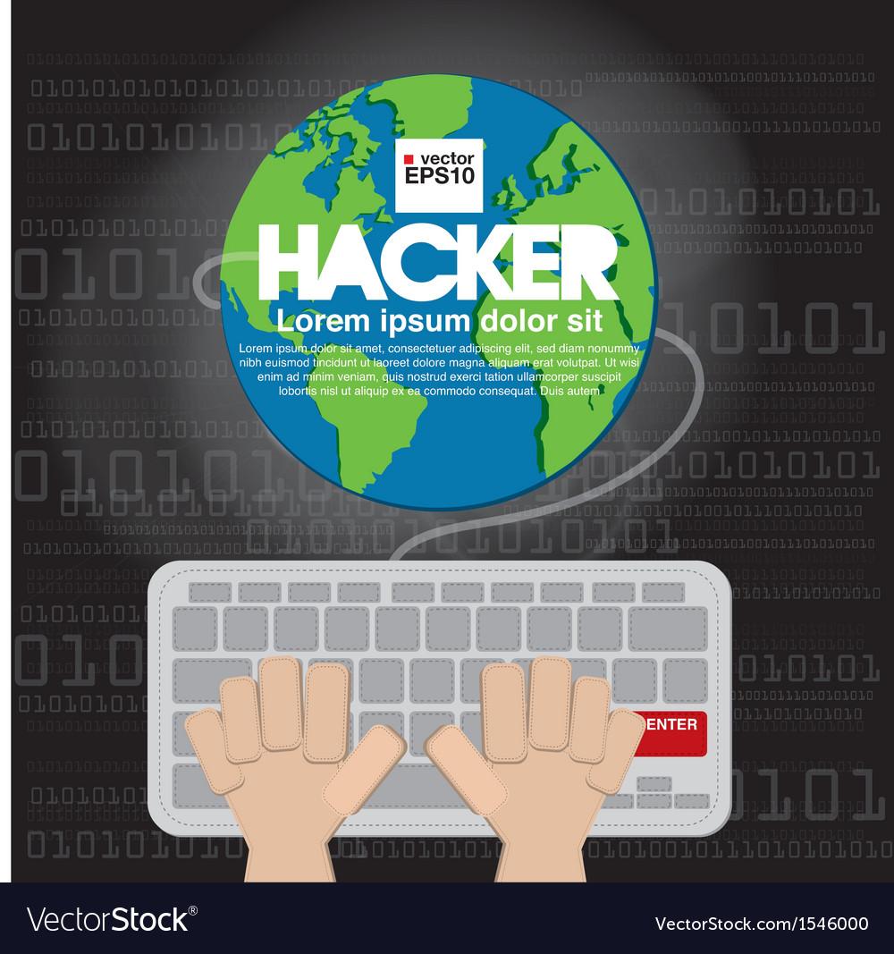 Hacker eps10 vector | Price: 1 Credit (USD $1)