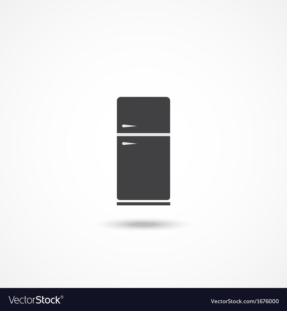 Refrigerator icon vector | Price: 1 Credit (USD $1)
