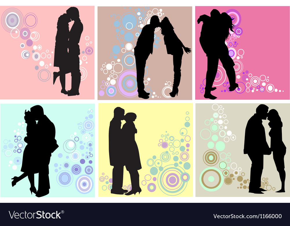 Valentines day couples vector | Price: 1 Credit (USD $1)