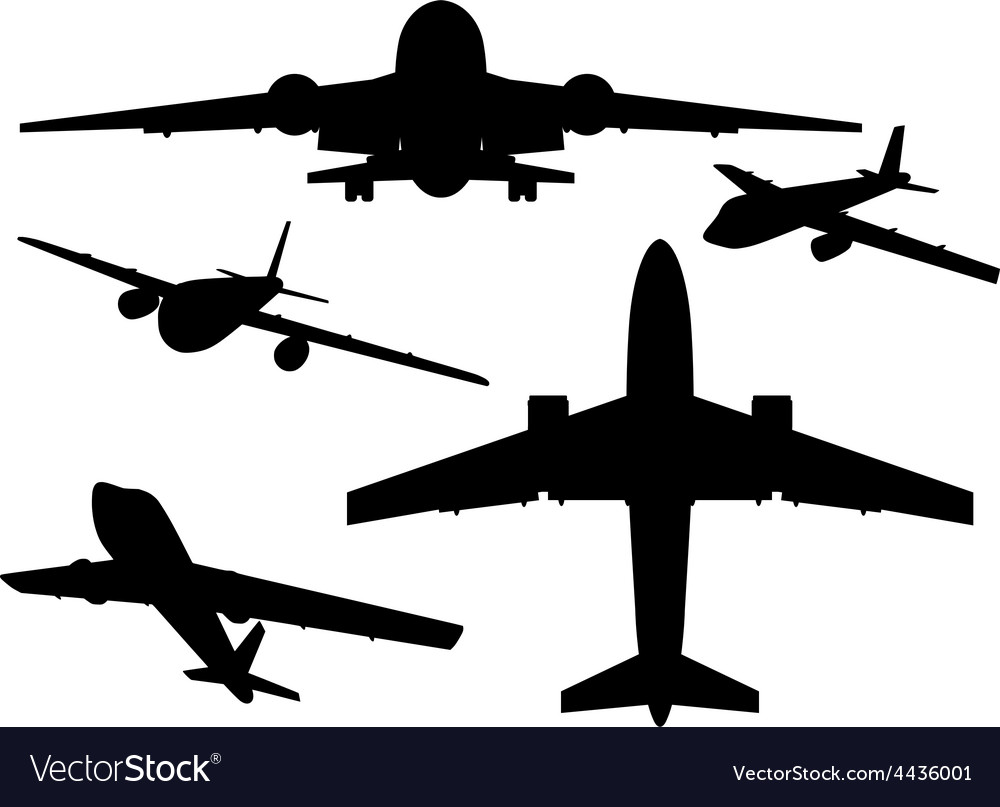 Aircrafts vector | Price: 1 Credit (USD $1)