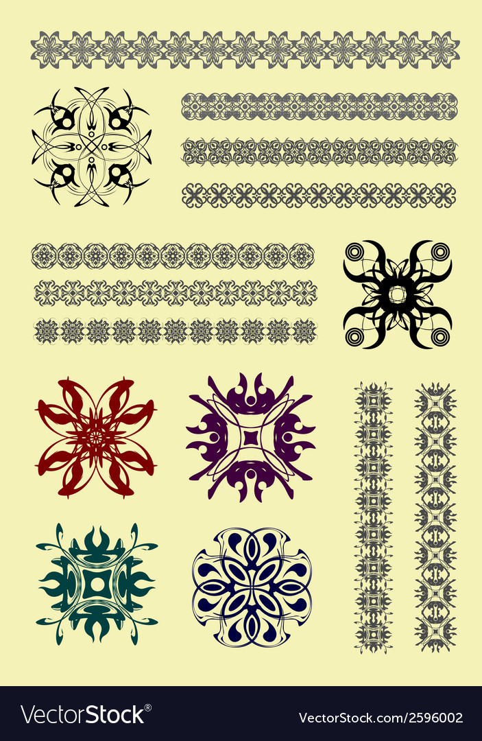 Al 0426 ornament vector | Price: 1 Credit (USD $1)