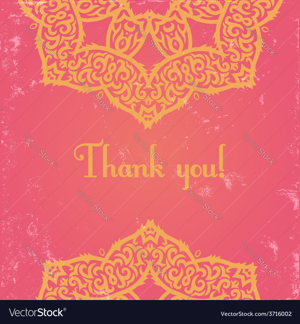 Pink indian card vector | Price: 1 Credit (USD $1)