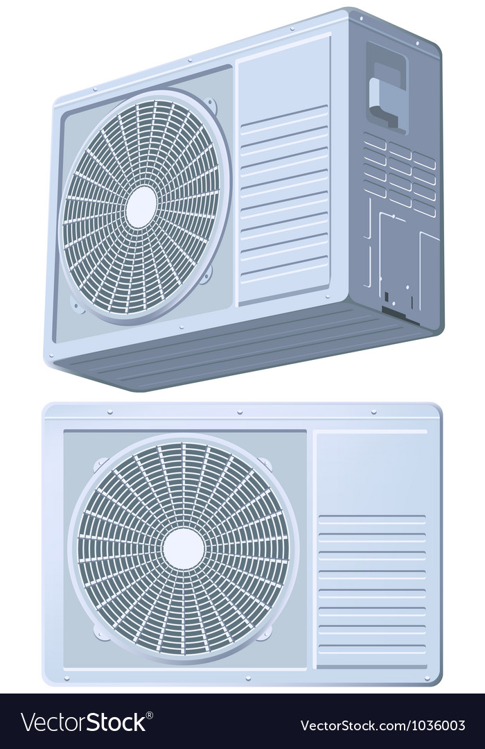 Air conditioner split system vector | Price: 1 Credit (USD $1)