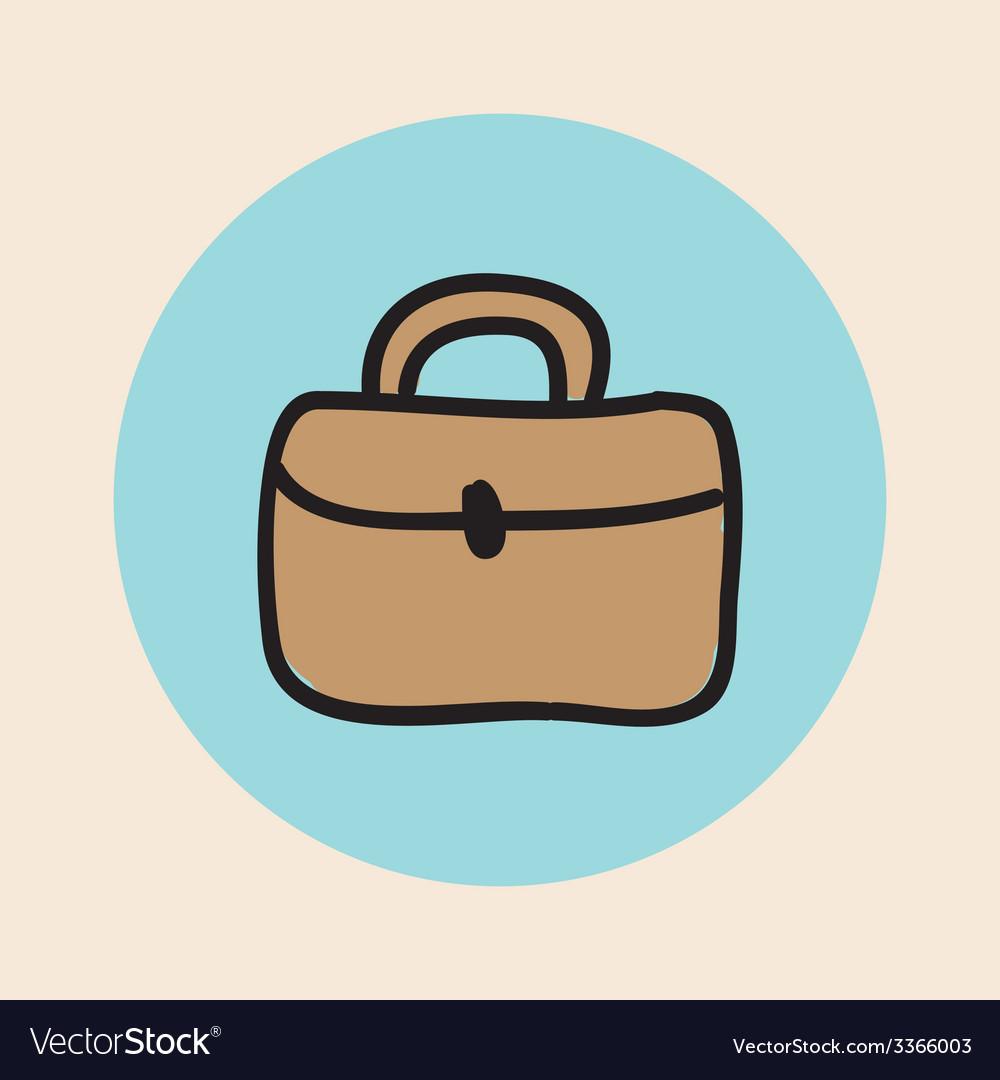 Briefcase design vector | Price: 1 Credit (USD $1)