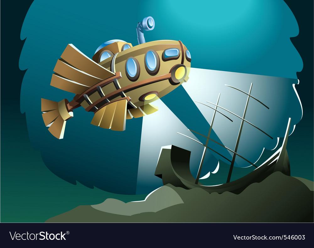 Darkest depths vector | Price: 1 Credit (USD $1)