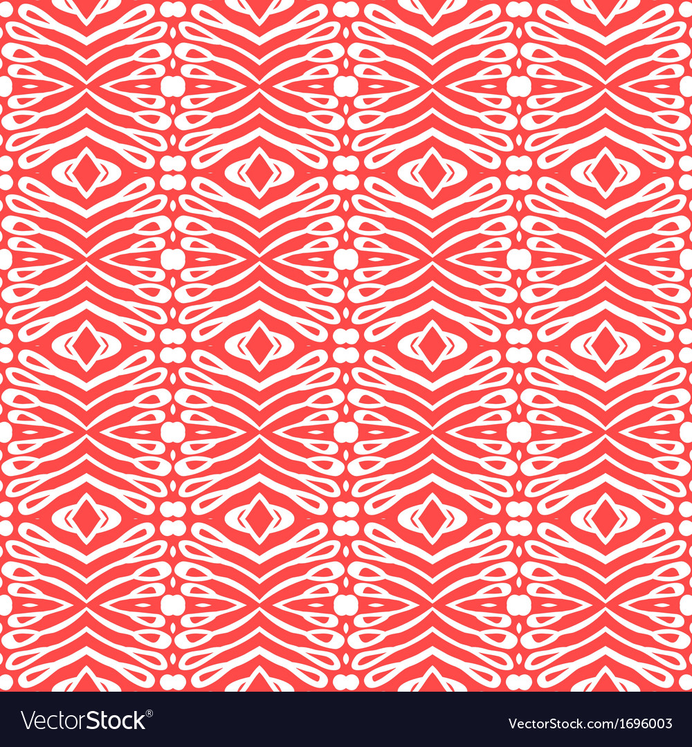 Flourish clean and simple pattern vector | Price: 1 Credit (USD $1)