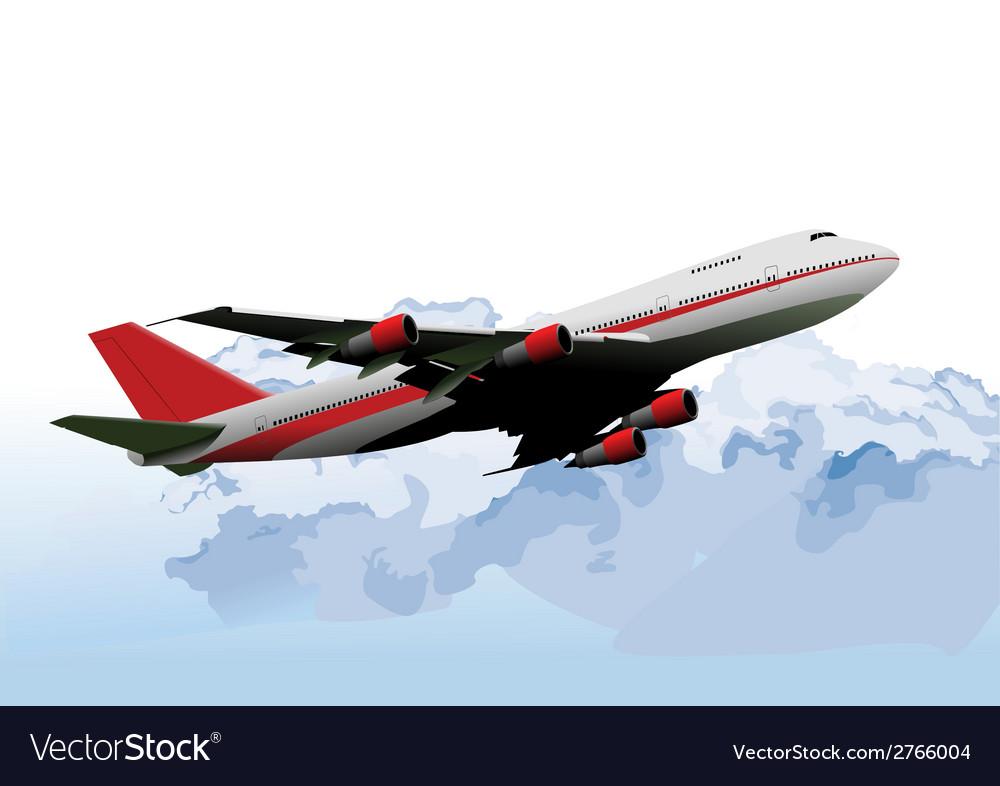 Al 0739 plane vector | Price: 1 Credit (USD $1)