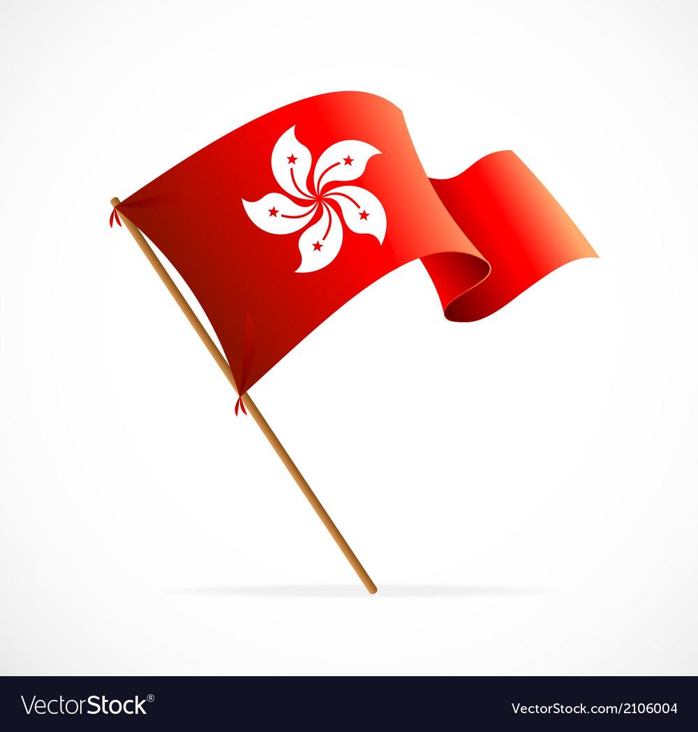 Flag of hong kong vector | Price: 1 Credit (USD $1)