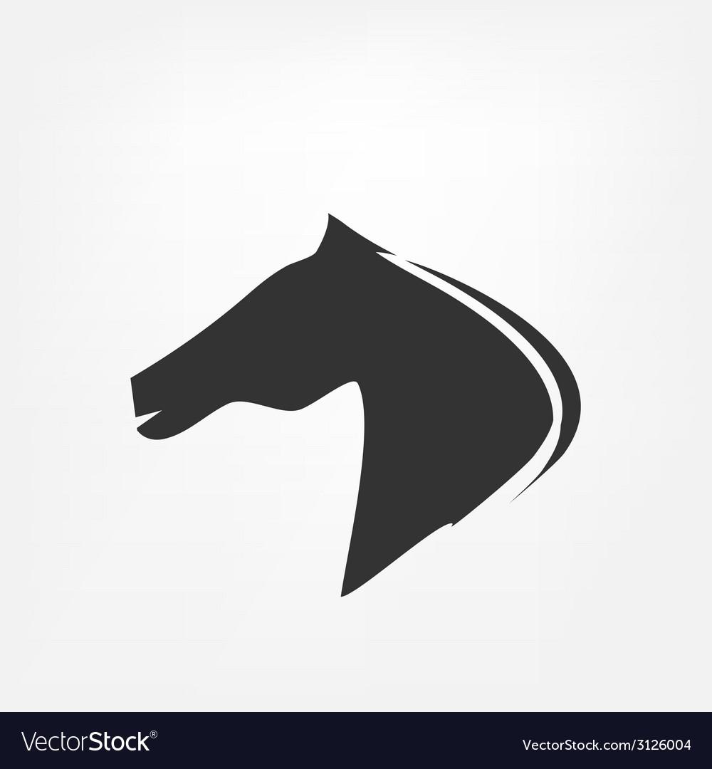 Horse head - vector | Price: 1 Credit (USD $1)