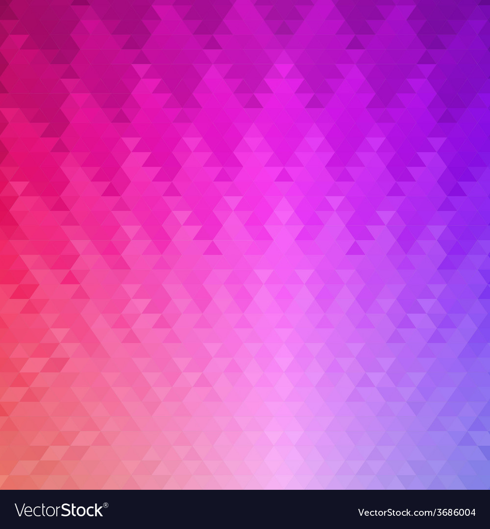 Pattern of geometric shapes triangle mosaic vector | Price: 1 Credit (USD $1)