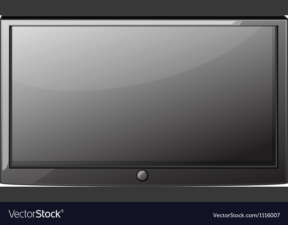 A television vector | Price: 1 Credit (USD $1)