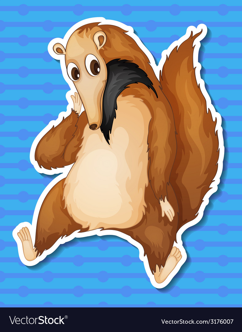 Ant eater vector | Price: 1 Credit (USD $1)