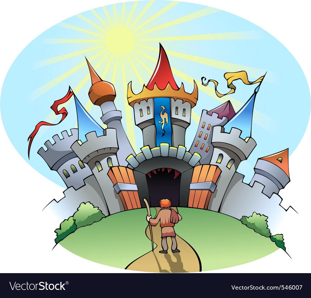Medieval city vector   Price: 1 Credit (USD $1)