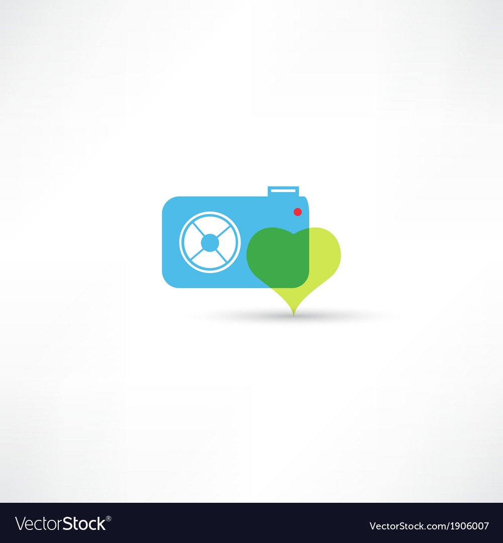Photograph to take pictures icon vector | Price: 1 Credit (USD $1)