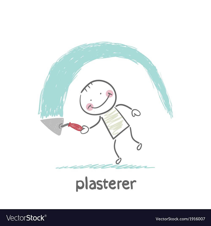 Plasterer works vector   Price: 1 Credit (USD $1)