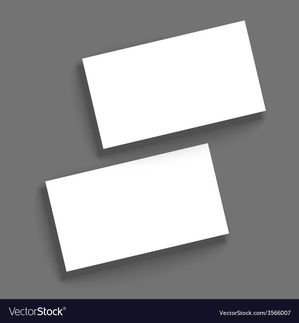 Template for business cards vector | Price: 1 Credit (USD $1)
