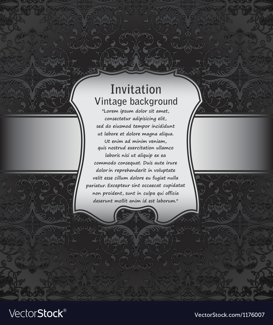 Vintage background for invitations vector | Price: 1 Credit (USD $1)