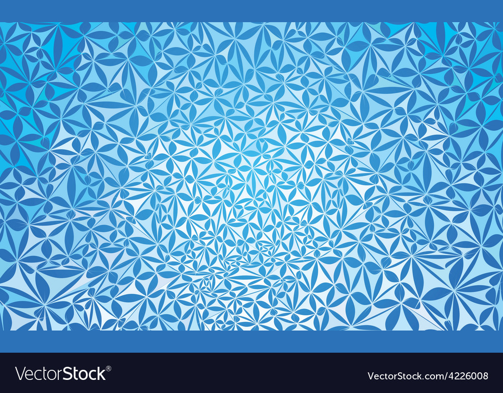 Blue abstract pattern vector | Price: 1 Credit (USD $1)