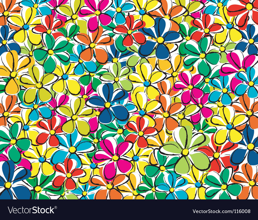 Bright garden vector | Price: 1 Credit (USD $1)