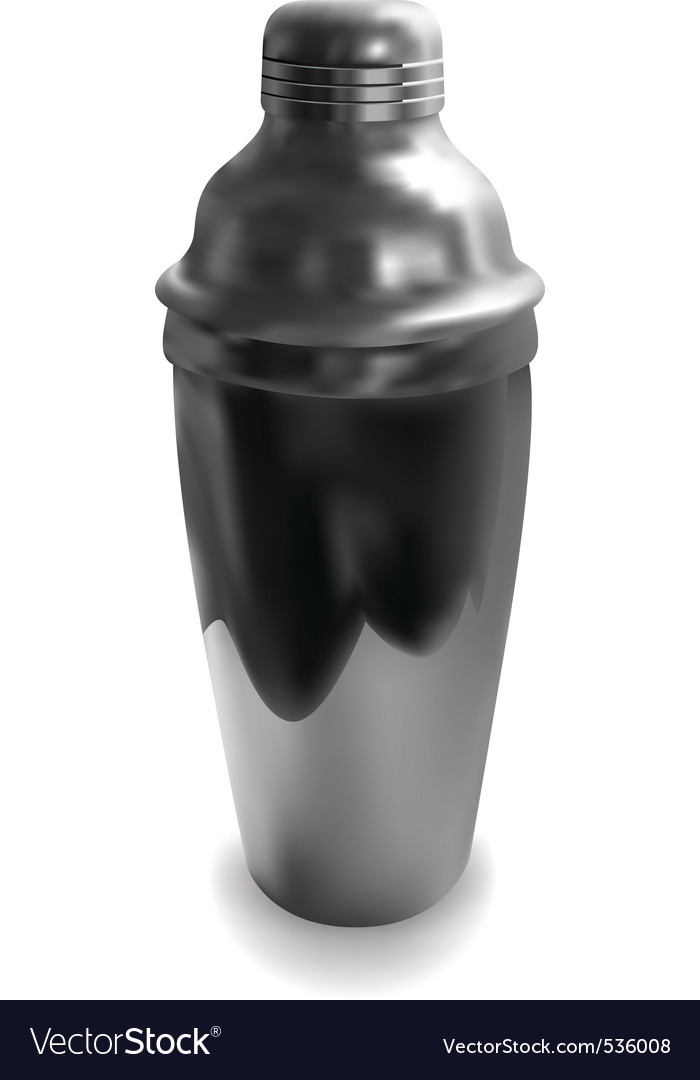 Cocktail shaker vector | Price: 1 Credit (USD $1)