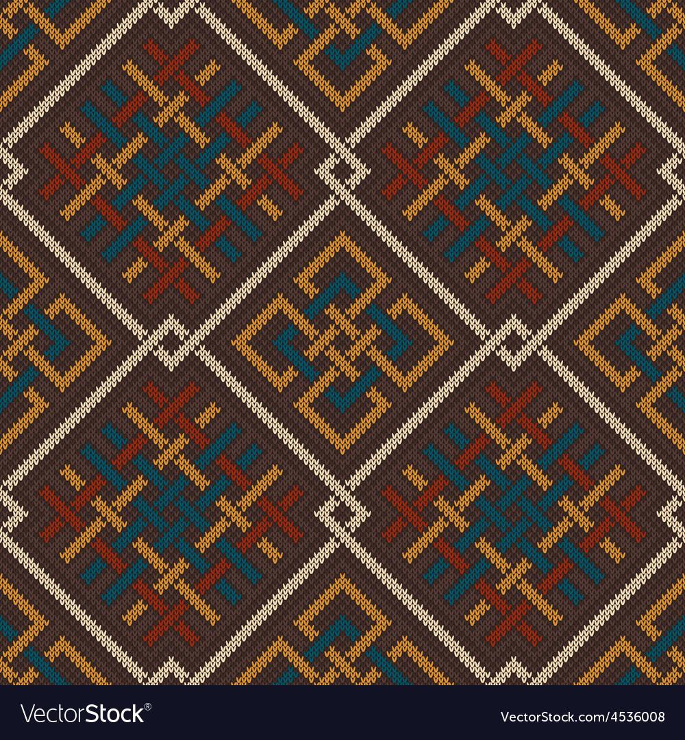 Knit celtic 06 vector | Price: 1 Credit (USD $1)