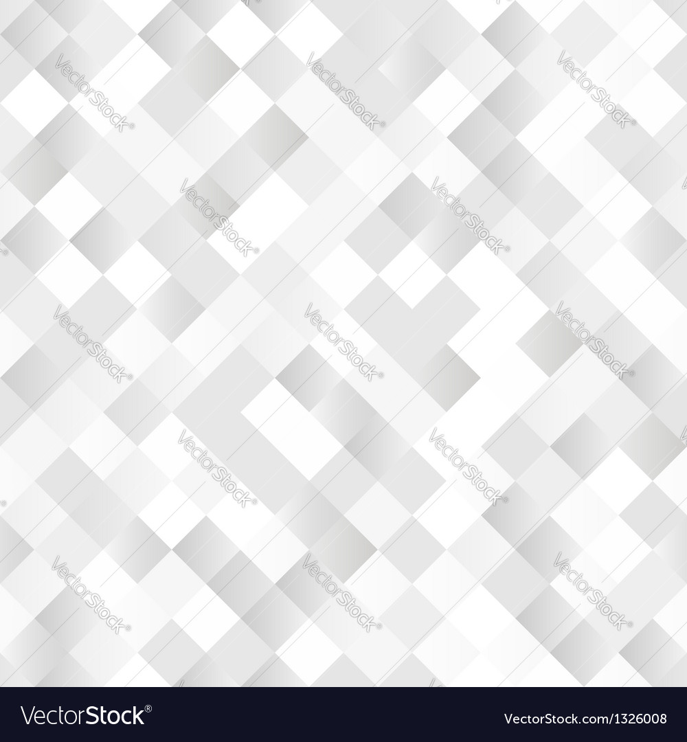 Seamless background with shiny silver squares vector | Price: 1 Credit (USD $1)