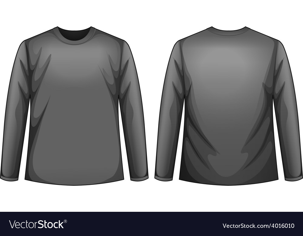 Black shirt vector | Price: 1 Credit (USD $1)