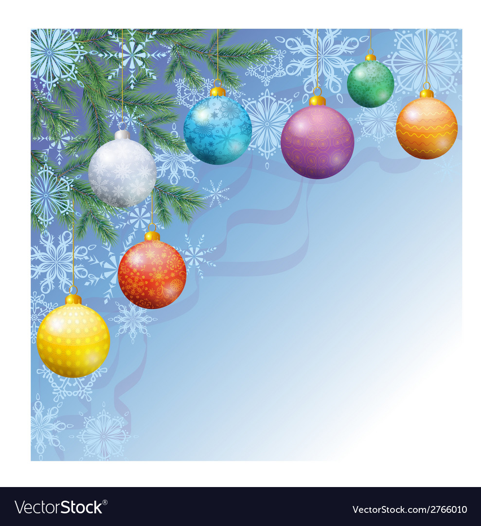 Christmas holiday background vector | Price: 1 Credit (USD $1)