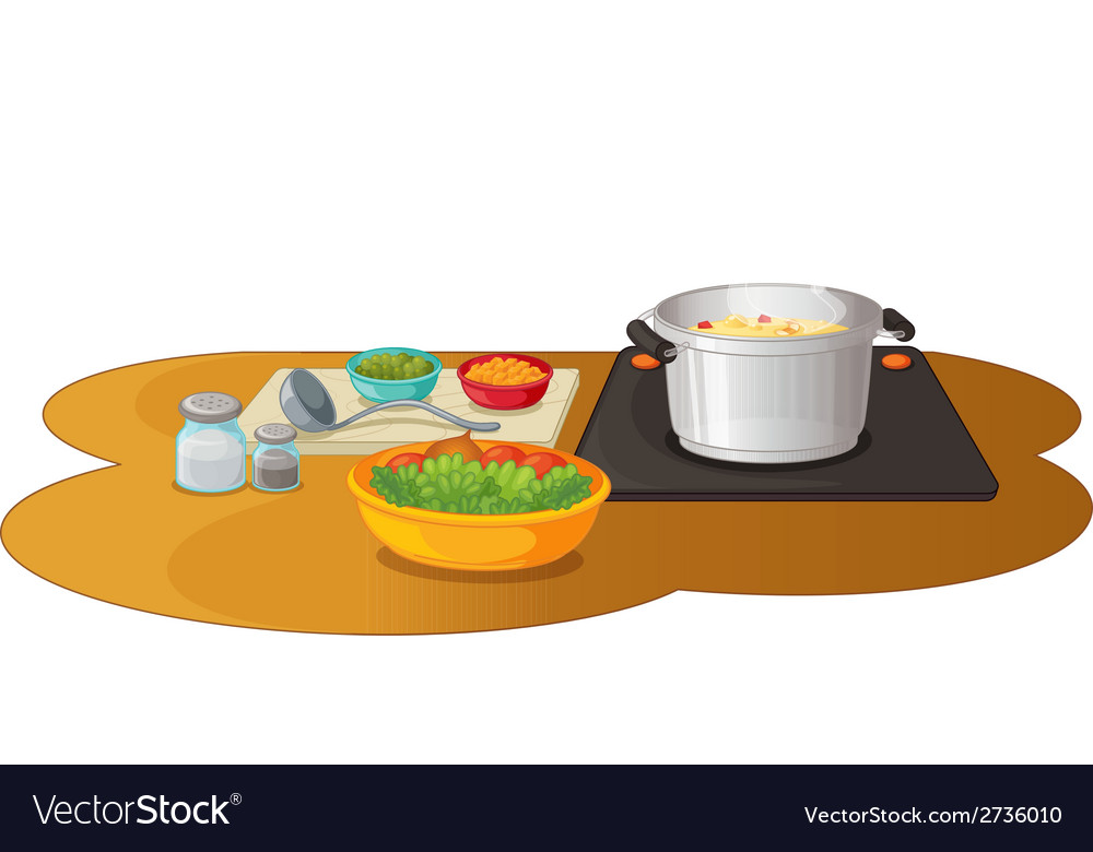 Food preparation vector | Price: 1 Credit (USD $1)