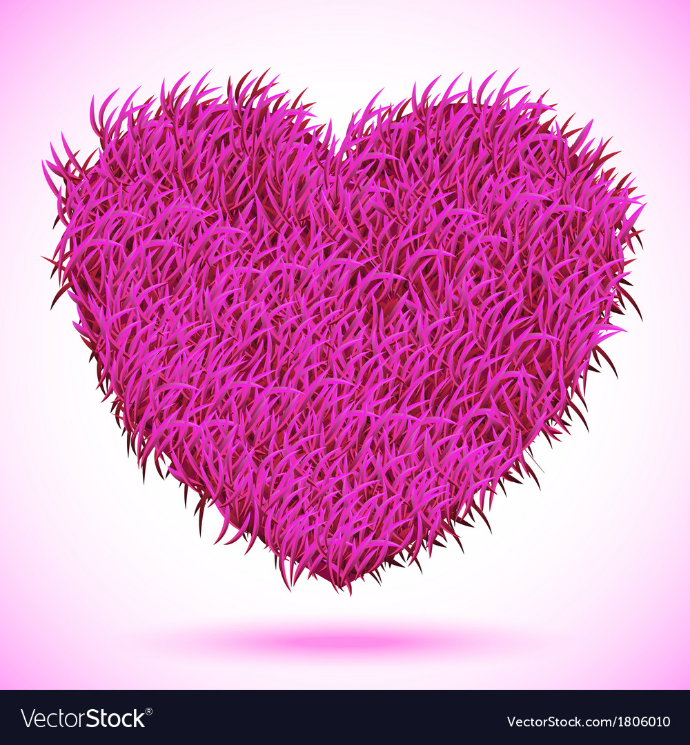 Heart pink carpet vector | Price: 1 Credit (USD $1)