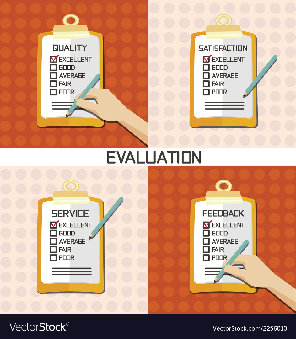 Set of evaluation approve quality check vector | Price: 1 Credit (USD $1)