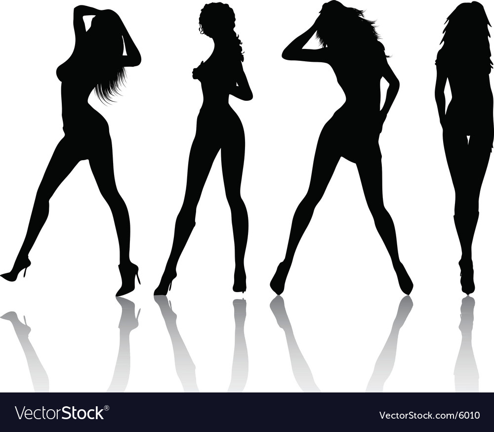 Sexy females vector | Price: 1 Credit (USD $1)