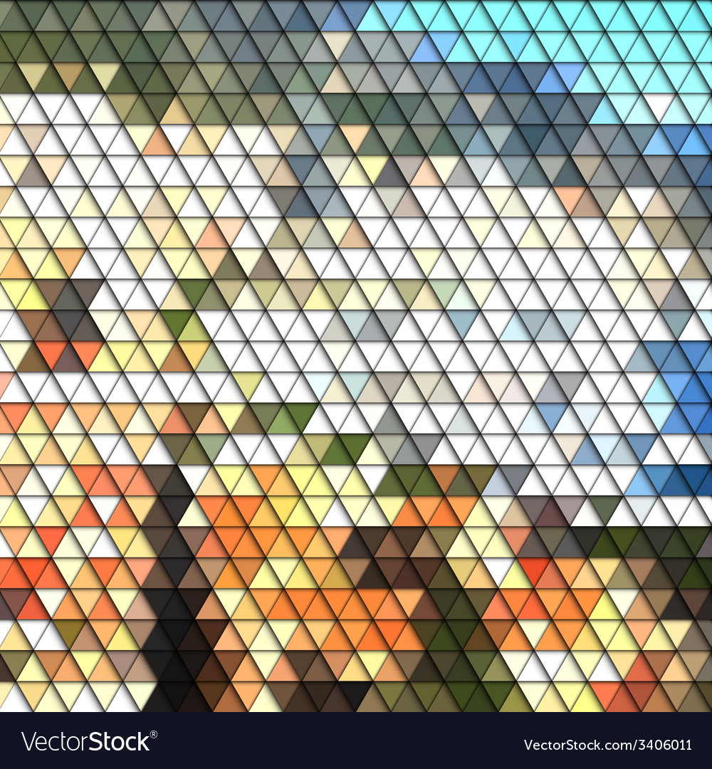 Colorful geometric background abstract triangle vector   Price: 1 Credit (USD $1)