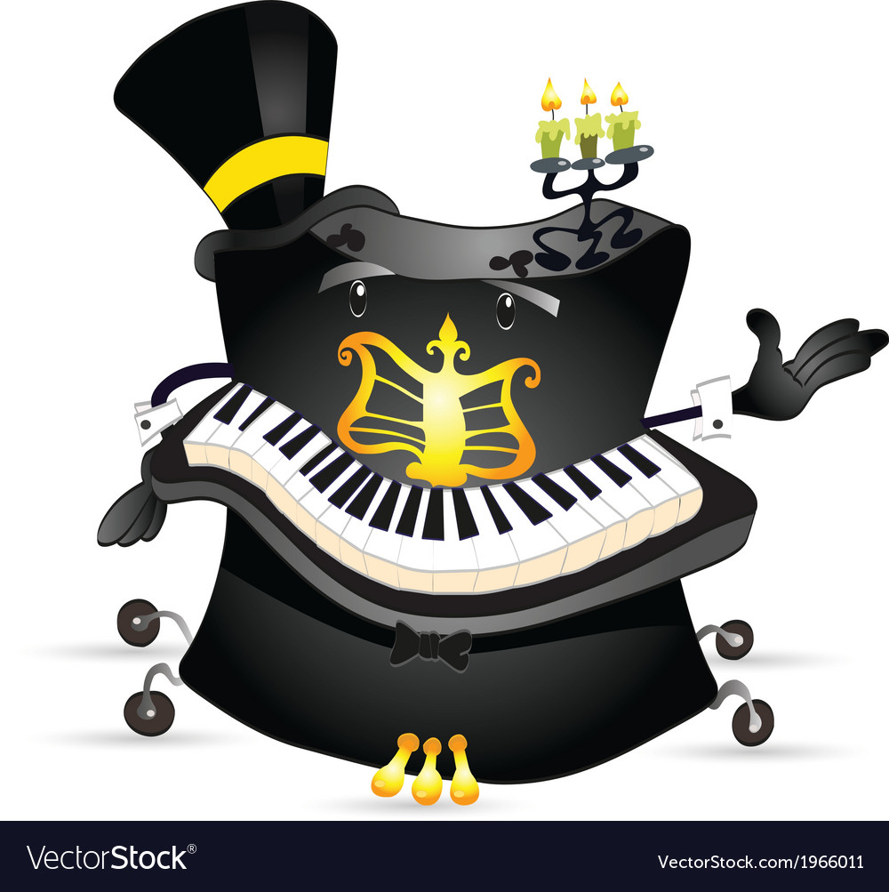 Piano 2 vector | Price: 1 Credit (USD $1)