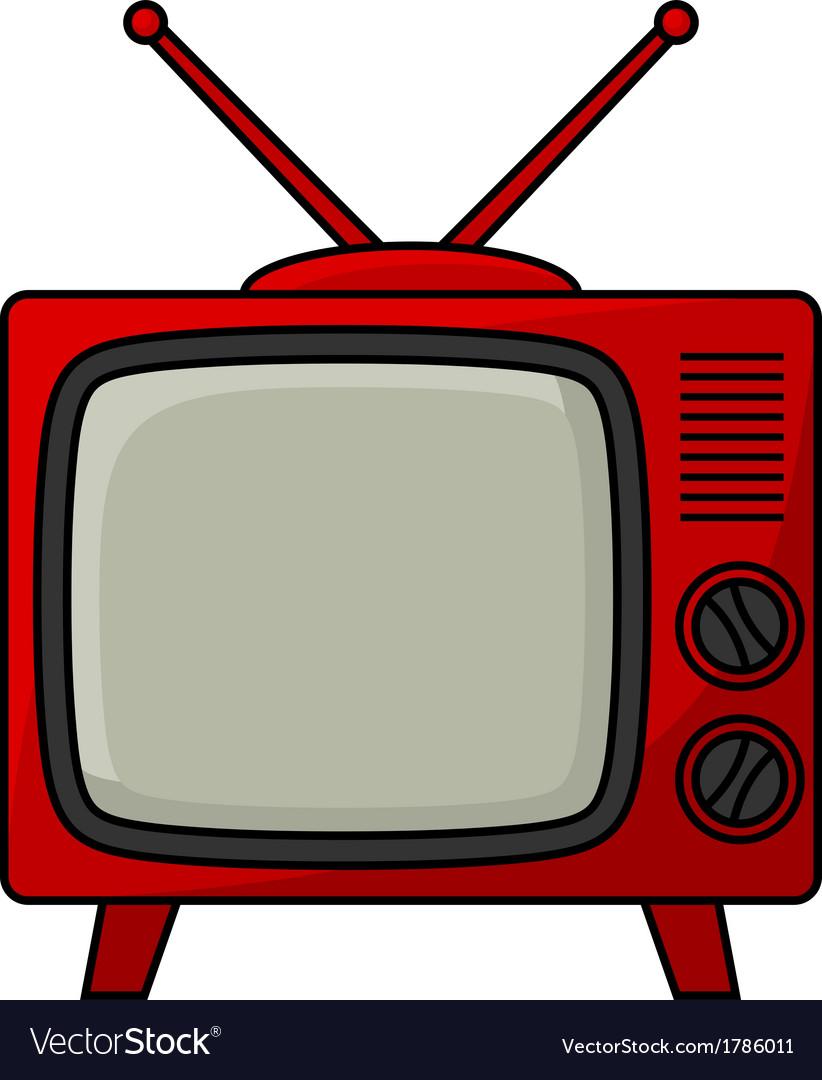 Retro tv vector | Price: 1 Credit (USD $1)