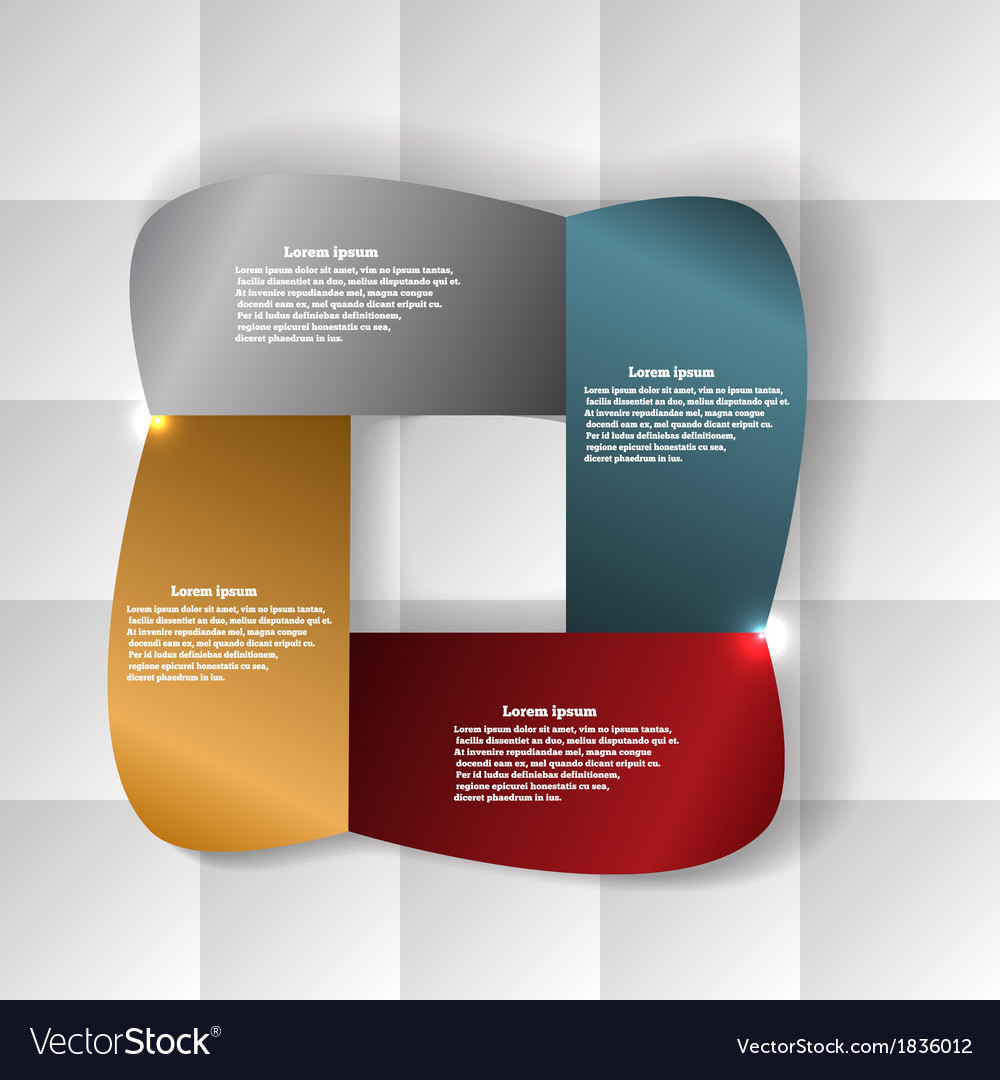 Abstract banner on a geometric background vector | Price: 1 Credit (USD $1)