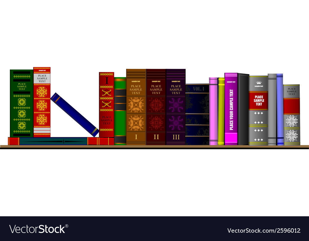 Al 0427 books vector | Price: 1 Credit (USD $1)