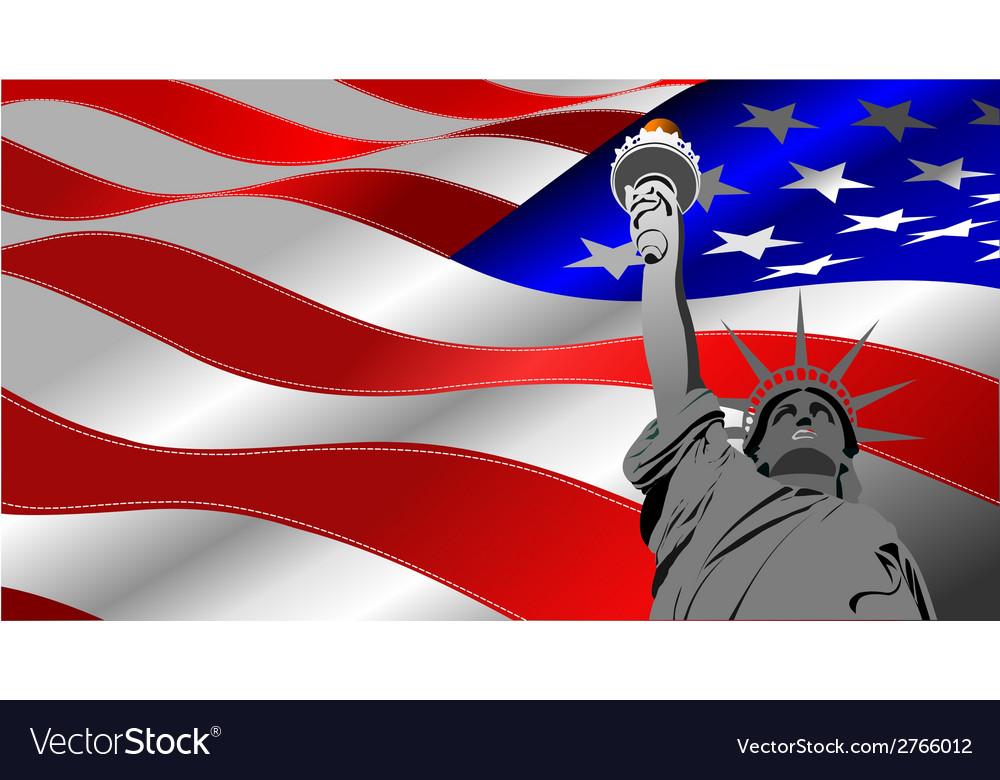 Al 0740 flag 01 vector | Price: 1 Credit (USD $1)